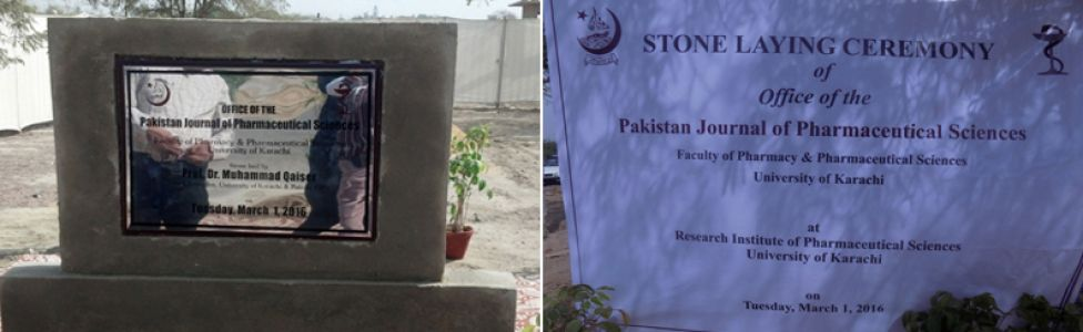 Stone Laying of Office of PJPS